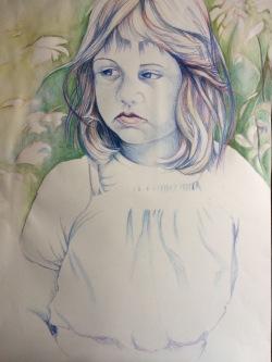 aquarelpotloden, 50 x 70