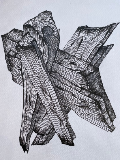 fineliner op A5 papier